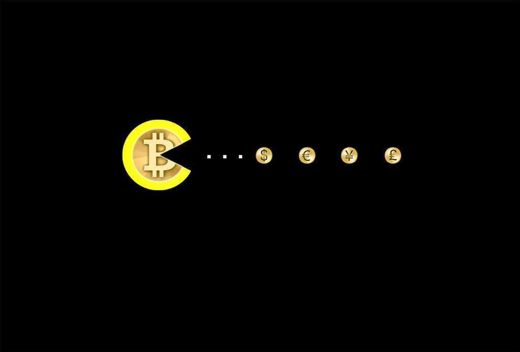 Bitcoin Pacman
