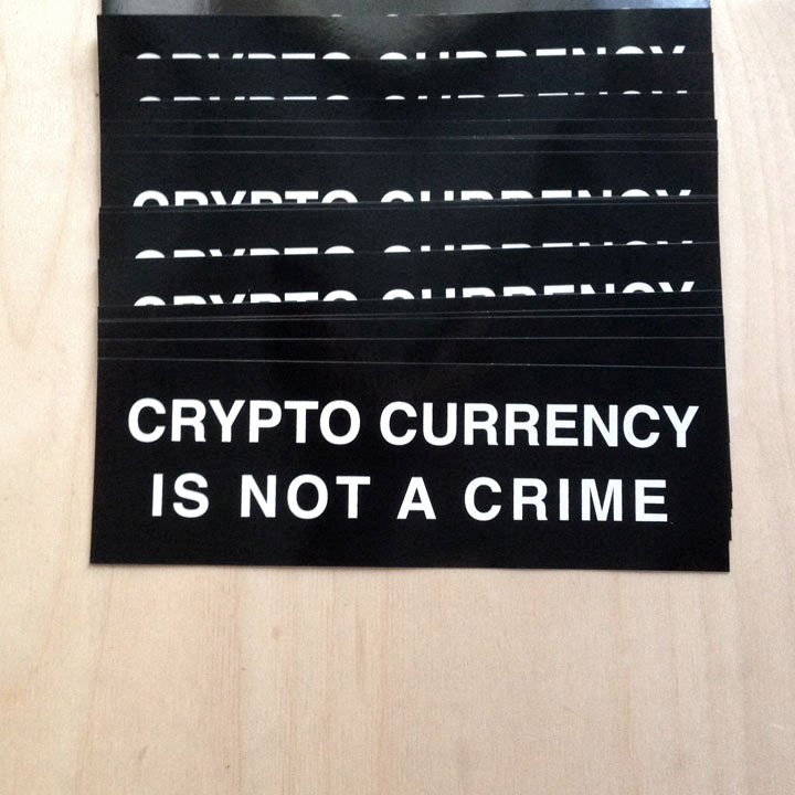 https://cryptothrift.com/auctions/wicked-weird/crypto-currency-is-not-a-crime-vinyl-bumper-sticker/