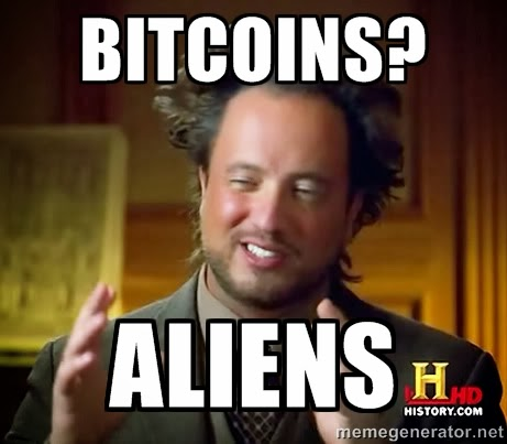 bitcoins-alien