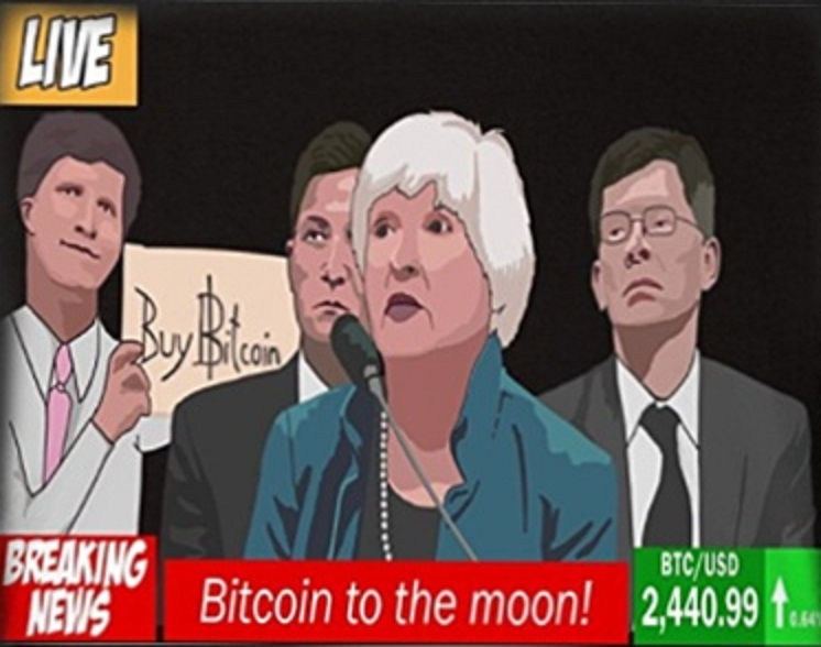 12++ Janet Yellen Buy Bitcoin